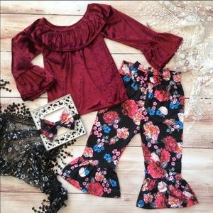 Boutique Girls 3pc Outfit